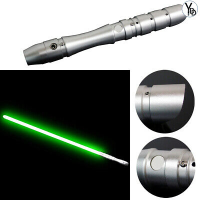 YDD Light Saber Sword Fx Force Metal Hilt Heavy Dueling Green Cosplay Toy Jedi