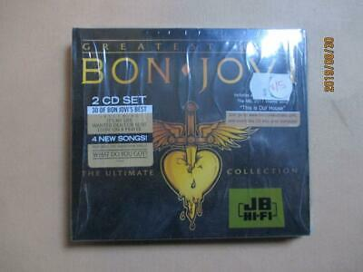 CD, Bon Jovi, Greatest Hits, 2 CD Set, Brand New, Sealed