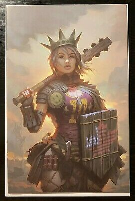 The Dark Age #1 Red 5 Guerrilla Squad Virgin Variant NM