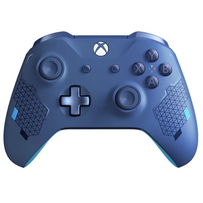 Xbox One Sport Blue Special Edition Wireless Controller NEW