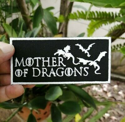 Mother of Dragons Game of Thrones Targaryen Badge Embroidered Iron-On Sew patch