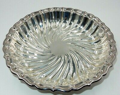 """Gorham Silverplate Ep Yc1881 Shallow 9.5"""" Tray Serving Bowl"""