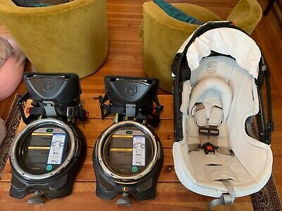 Orbit Baby G3 Infant Car Seat + 2 Bases Exp. 2021