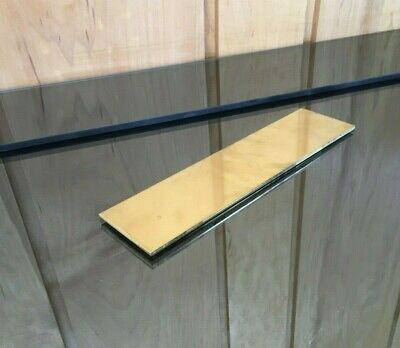 """1/8 BRASS SHEET PLATE NEW 2""""X8"""" .125 Thick *CUSTOM 1/8 SIZES AVAILABLE*"""