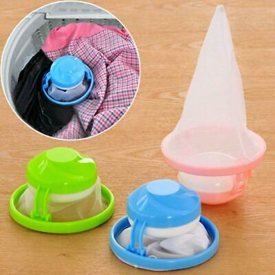 New Laundry Filter Bag Floating Pet Lint Hair Catcher Washing Machine Mesh Pouch