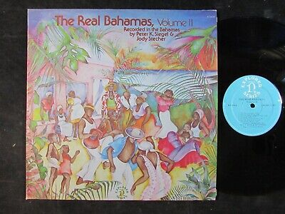 THE REAL BAHAMAS In Music And Song II/2 NONESUCH WORLD MUSIC LP caribbean island