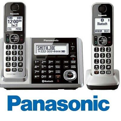 Panasonic KX-TGF372S Link2Cell Bluetooth 2 Cordless Phones w/ Answering Machine