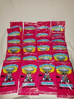 1985 GPK Series 1 Unopened / Sealed Single Pack - Ireland / UK MINI version OS 1
