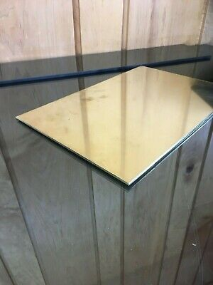 """1/8 BRASS SHEET PLATE NEW 8""""X12"""" .125 Thick *CUSTOM 1/8 SIZES AVAILABLE*"""