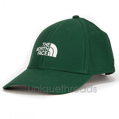 The North Face Mens - 66 CLASSIC HAT Ball Cap - Night Green / TNF White