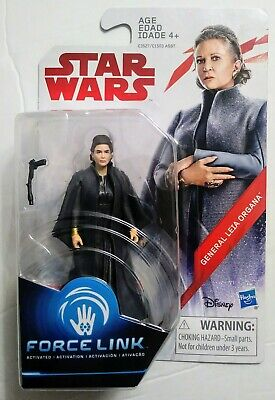 """General Leia Organa Star Wars The Last Jedi 3.75"""" Action Figure * In Hand"""