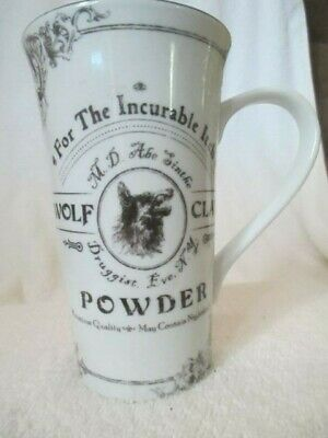 222 Fifth Halloween Latte Mug HALLOW APOTHECARY Wolf Claw Powder