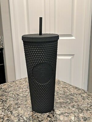 Starbucks Matte Black Studded Tumbler Cup Limited Edition