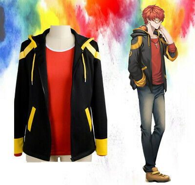 MYSTIC MESSENGER 707 Luciel Choi Saeyoung Cosplay hoodie Costume with CS
