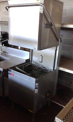 Electrolux Nht8G Pass Through Electronic Commercial Dishwasher