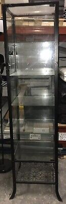 Large Glass Display Cabinet With Lockable Front Door For Retail Shop Business