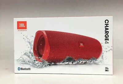JBL Charge 4 Bluetooth Wireless Speaker - Red Brand New Ships Free