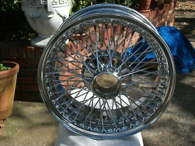 Jaguar  XK-E Series III new/old stock chrome wire wheels
