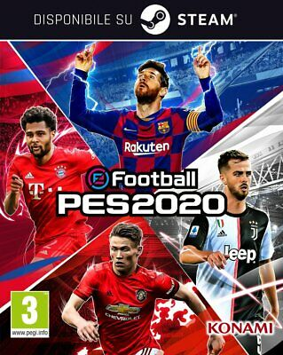 [Versione Digitale Steam] PC eFootball PES 2020 Pro Evolution Soccer Solo Key