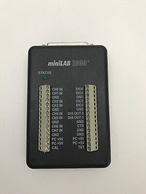Measurement Computing miniLAB 1008 USB Data Acquisition Device
