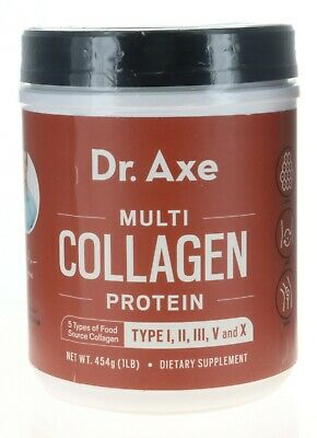 Ancient Nutrition Dr. Axe Multi Collagen Protein TYPE II, II, III, V & X 58 Serv