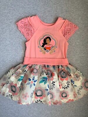 """/""""Elena of Avalor/"""" Personalized White or Pink T-Shirt /& Pink/&BlackTutu-NEW"""