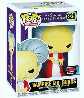 Funko Pop! Simpsons: VAMPIRE MR BURNS - NYCC Shared Exclusive PREORDER!