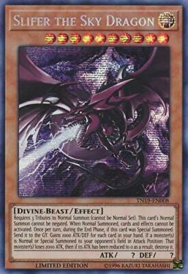 Yugioh - Slifer the Sky Dragon (alternate art) - TN19-EN008 - Prismatic Secret R
