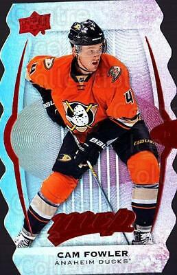 2016-17 Upper Deck MVP Colors and Contours #4 Cam Fowler