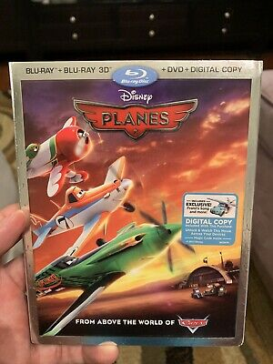 ** PLANES ** 3D Blu Ray ONLY - Disney Slip Cover