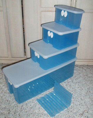New~TUPPERWARE Fridgesmart Vented Containers Sold Individually~Size Choice~Blue