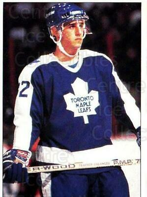 1991 Toronto Maple Leafs Panini Team Stickers #14 Daniel Marois