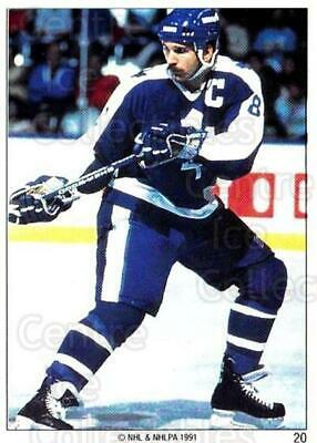 1991 Toronto Maple Leafs Panini Team Stickers #20 Rob Ramage