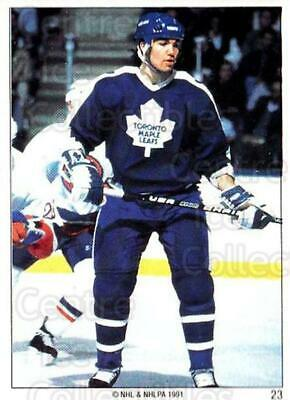 1991 Toronto Maple Leafs Panini Team Stickers #23 Luke Richardson