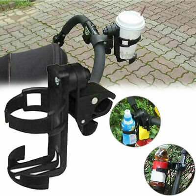 Bicycle Motorcycle Bike Clip On Bottle Cup Drink Holder Baby Stroller Mount Cage
