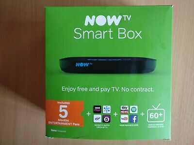NOW TV HD Smart TV Box with Remote