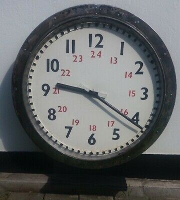 Large 90Cm British Rail Euston Platform Clock