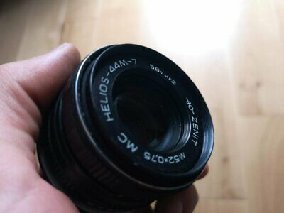 Helios 44-7 58 mm f/2 M42 Boke Lens for Pentax, Zenit