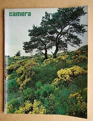 Camera. March 1972. No. 3. This issue titled: Treescape.