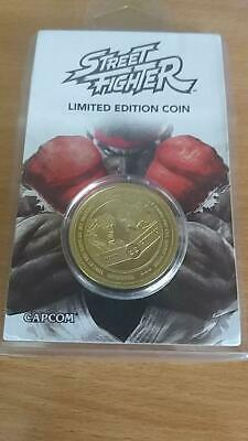 Capcom - Limited Edition Silver Coin Street Fighter 30th Anniversary