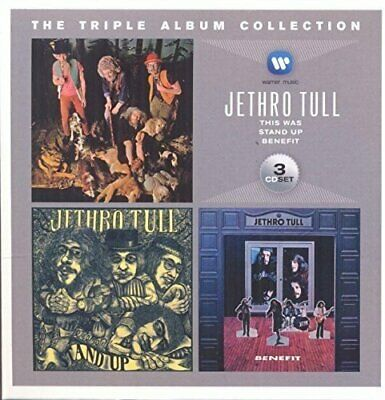 Jethro Tull - The Triple Album Collection (2014)  3CD  NEW/SEALED  SPEEDYPOST