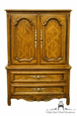 """DREXEL HERITAGE Cabernet II Collection Country French 41"""" Door Chest / Armoir..."""