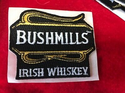 Bushmills Irish Whiskey Distillery Liquor Embroidered Logo Patch