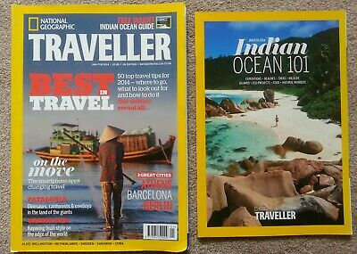 National Geographic Traveller: Patagonia/Greenland/Barcelona/Indian Ocean/Borneo
