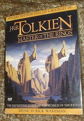 J.R.R. Tolkien: Master of the Rings (DVD, 2002), NEW & SEALED, SPECIAL EDITION