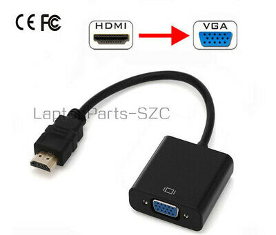 HDMI Male to VGA Female Video Cable Cord Converter Adapter For PC DVD HDTV 1080P