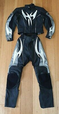 Ladies Motorbike Leathers HEIN GERICKE 2 piece size UK 8  (w)