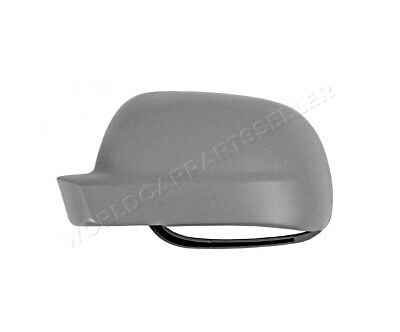Mechanical Side Mirror Aspherical Primed LEFT Fits VW Polo 1999-2002