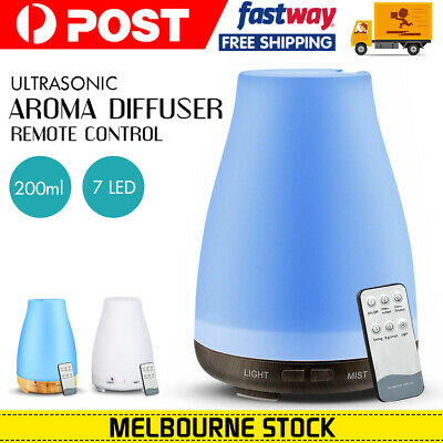 Ultrasonic Aroma Aromatherapy Diffuser LED Essential Oil Air Humidifier Purifier