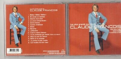 CD CLAUDE FRANCOIS-Les plus grands succes-15 TITRES-2001-FRENCH